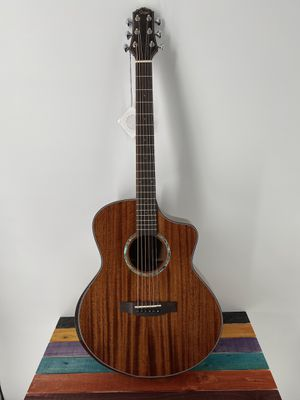 Acoustic Guitar Smiger M-F1SS Acoustic Guitar Cutaway Solid Woods High Quality Killer Price Free Deluxe Gigbag for Sale in Winchester, CA