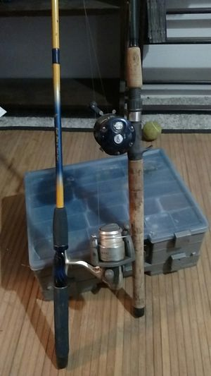 2 fishing polls and a bunch of tackle for Sale in Oregon City, OR