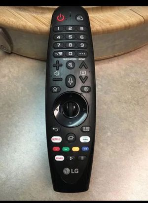 LG AN-MR19BA Magic Remote Control for Select 2019 LG Smart TV w/ AI ThinQ® for Sale in Fresno, CA