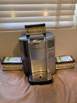 Cuisinart Single serve coffee maker with paper filters for Sale in Los Angeles, CA