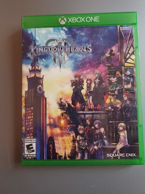 Kingdom Hearts 3 and Crash Bandicoot Xbox One Games for Sale in Henderson, NV