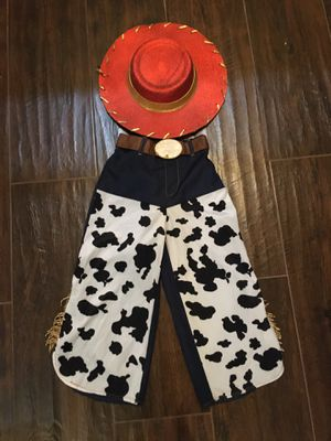Toy story Jessie hat pants 5/6 for Sale in Las Vegas, NV
