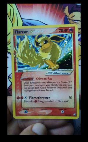 Pokemon Cards Gold Star Flareon for Sale in Santa Ana, CA