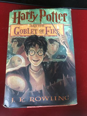 Harry Potter and the goblet of fire book for Sale in Hartford, CT