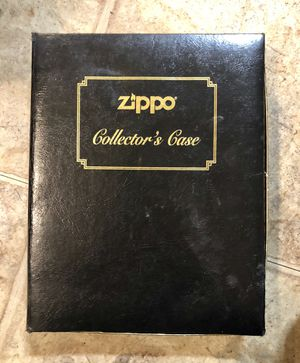 "Complete Set of (12) ZIPPO LIGHTERS in ""Collectors Case"". for Sale in New Albany, IN"
