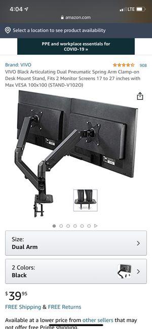 Dual Monitor mount for Sale in Phoenix, AZ