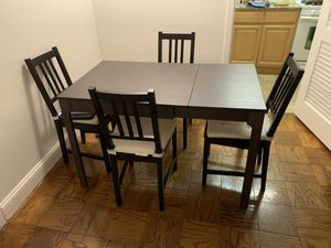 IKEA Dining set with 4 chairs for Sale in Arlington, VA
