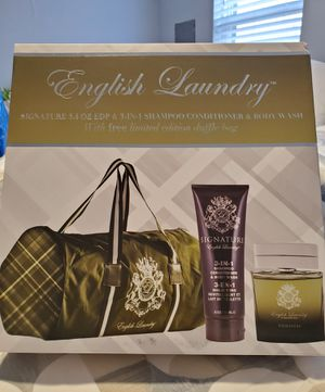 Brand New English Laundry Duffel Bag Large Cologne & Bodywash for Sale in Dallas, TX