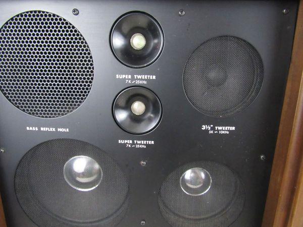 Vintage Coral 5 Way 6 Speakers BX-1201 Made In Japan