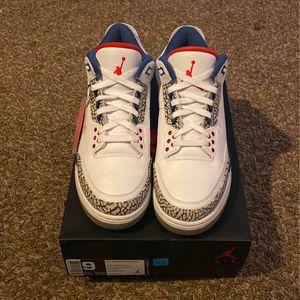 "Air Jordan 3 ""True Blue"" for Sale in Bonney Lake, WA"