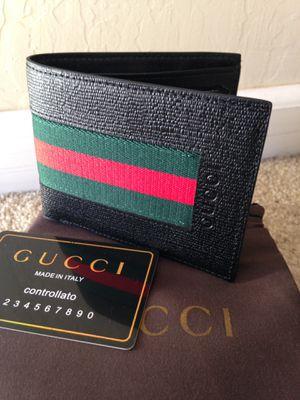 Designer leather wallet for Sale in San Jose, CA