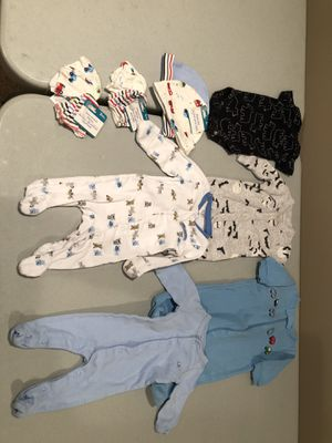 Baby boy newborn clothes for Sale in St. Louis, MO