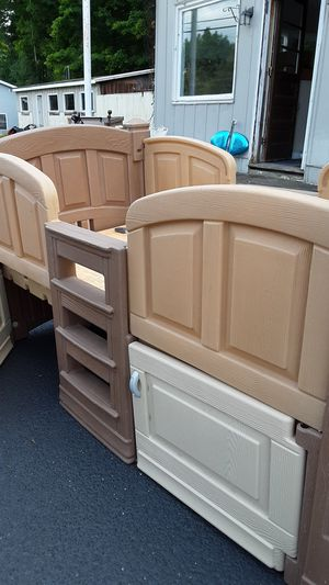 Twin size castle bed for Sale in Mayville, NY