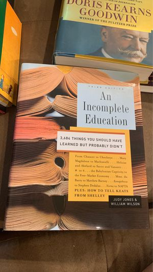 An incomplete education third edition for Sale in Springfield, VA