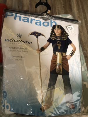 Pharaon child costume size 8-10 for Sale in Anaheim, CA
