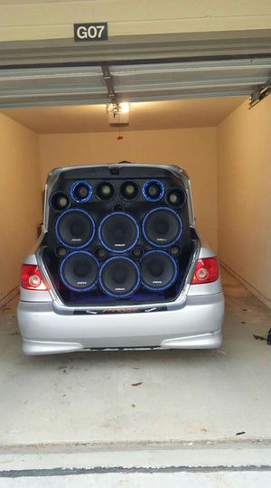 "12"" pro audio speakers for Sale in Lewisville, TX"