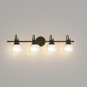 4 light - Lightning Fixture by Progress Lighting - Archie Collection (Venetian Bronze) for Sale in Rochester, NY