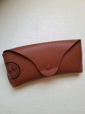 Light Tan Leather Official Ray Ban Sunglass Case for Sale in Little Rock, AR