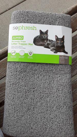 Sophresh jumbo rectangle shape litter Trapper mat for Sale in Imperial, MO