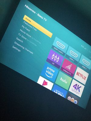 """55"""" hisense tv for Sale in Columbus, OH"""