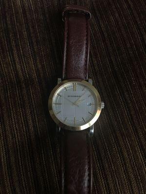 Men's Burberry watch for Sale in Germantown, MD