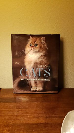 Cats, hardcover book for Sale in Renton, WA