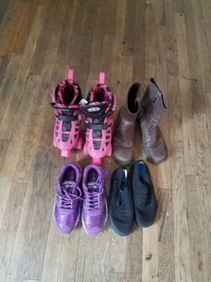 Girl boots,shoes,and skates for Sale in Amarillo, TX