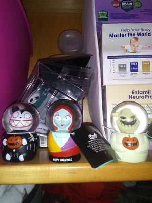 Nightmare before Christmas small snow globes for Sale in Phoenix, AZ