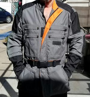 Harley-Davidson rain gear jacket nylon with mesh liner for Sale in Whittier, CA