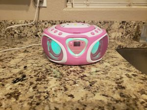 Hello Kitty LED light up CD/ radio player for Sale in Mesa, AZ