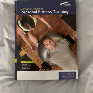 NASM Essentials of Personal Fitness Training 4th edition revised for Sale in Schaumburg, IL