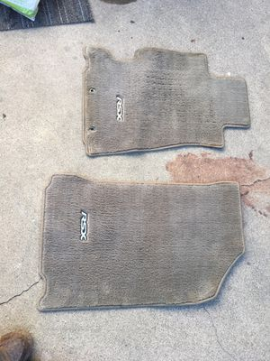 02-06 Acura Rsx Tan Front Mats- In perfect condition $70.00 Firm Oem Honda Part for Sale in Whittier, CA