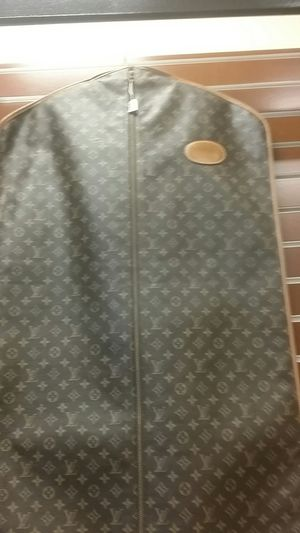 Vintage leather Louis vuitton garment bag for Sale in Newport, RI