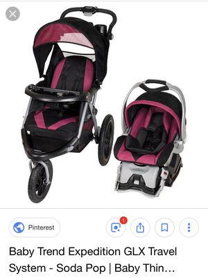 Baby trend travel system for Sale in Carbondale, IL