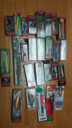 Fishing lures ..... NEW for Sale in Waterbury, CT