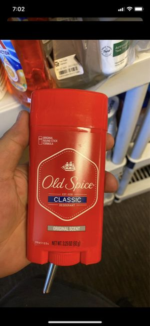 Old spice deodorant $2each for Sale in Las Vegas, NV