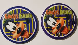 Disney's Goofy's Kitchen Dining Button Pin Badge for Sale in Auburn, WA