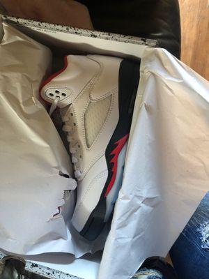Jordan retro 5s size 5.5 150 for Sale in Oakland, CA