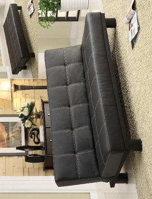 3-6 Days Delivery 👉 Collin Adjustable Futon Sofa by Crown Mark for Sale in Jessup, MD