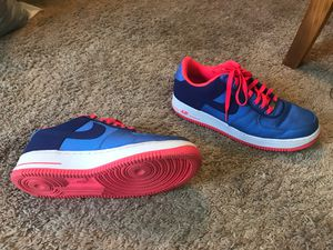 Blue/white/hot pink nikes for Sale in Palm Bay, FL