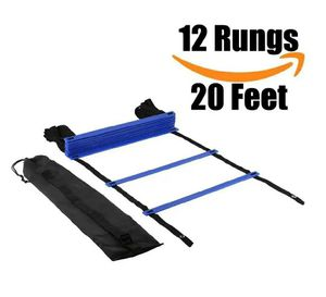 Agility Ladder, Speed Training Equipment For High Intensity Footwork Quick Ladder Multi-Sport Training Tool for Sale in HALNDLE BCH, FL
