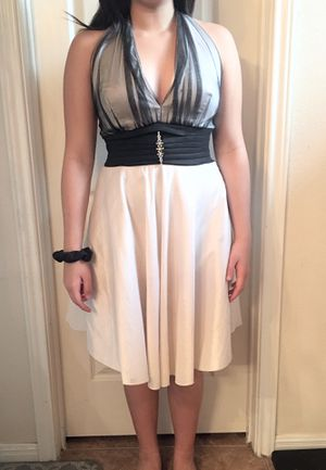 Black & Pearl White beautiful dress for Sale in Austin, TX