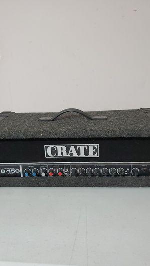 SLM Crate B 150 Bass Amp Head nice must see for Sale in Waterbury, CT
