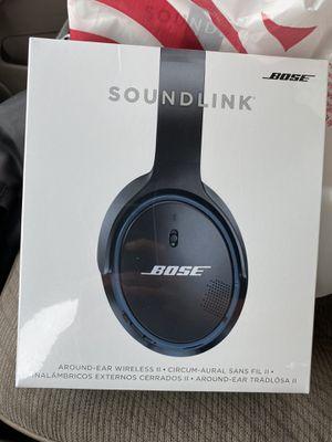 Bose - SoundLink Wireless Around-Ear Headphones II - Black for Sale in Long Beach, CA