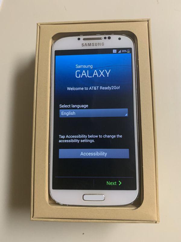 Samsung Galaxy S4 (AT&T Unlocked)