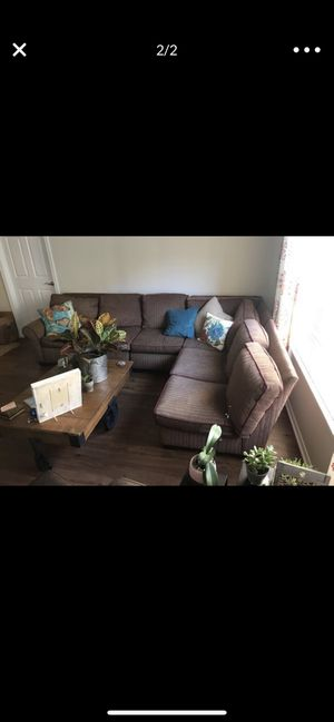 This is an original Brentwood sectional couch sofa from Arhaus Furniture, originally $5,500. I'm moving and won't have the space for it. I've owned for Sale in Pittsburgh, PA