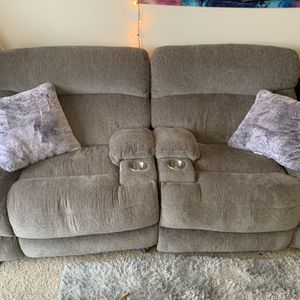 Plush Recliner Couch & Chair for Sale in Northville, MI