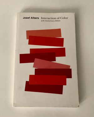 Interaction of Color by Josef Albers for Sale in Downey, CA