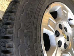 Silverado wheels and tires for Sale in Mount Joy, PA