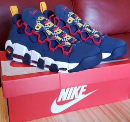 NIKE AIR MORE MONEY 'NAUTICAL REDUX' MEN'S BASKETBALL SNEAKERS AR5396 400 Sz 9.5 for Sale in Coppell,  TX